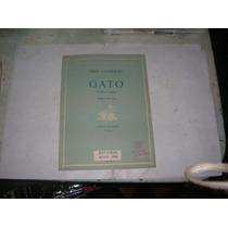 Partitura 1949 Gato Emilio .a. Napolitano Ricordi Popular