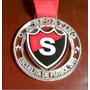 Medalla Llavero Trofeo Acrilico Color Con Escudo