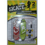 Skate Para Dedos Finger Skateboards Pack Por 2 C/repuestos