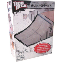 Tech Deck.segmento P/armar Parque: Cuartapipa-minijuegosnet