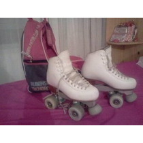 Patines Artisticos Profesionales Nro 34 1/2 Impecables!!!!