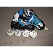 Rollers Juf Sin Uso Ajustables Del 34-37