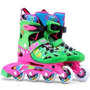 Rollers Patines Extensible Rosa Abec7 Envio Gratis Base Refo