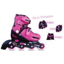 Rollers Kids Para Nena Nene Patines Protección De Regalo