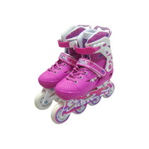 Rollers Infantiles Extensibles Con Kit De Proteccion Y Casco