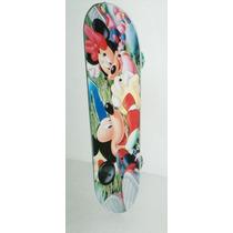 Patineta Skate De 4 Ruedas De Mickey Chica