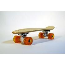 Skate Patineta Moolah Penny Mini Longboard De Madera