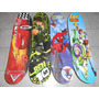 Patineta Skate Cars Spiderman Ben 10 Los Vengadores Etc