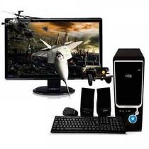 Pc Intel I5 2300 - Hdmi - Ddr3 4gb + Hd 500gb + Gab. Kit 450