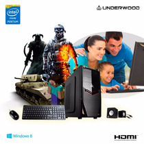 Pc Intel G3250 4gb+1tb Windows 8 Garantia