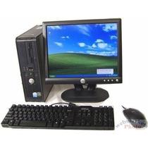 Pc Hp/dell Core 2 Duo 2.33 Disco De 500 Monitor 17 Lcd 2gb R