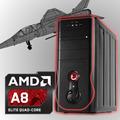 Pc Computadora Diseño Juegos Amd 4gb 1tb Usb3 - En La Plata