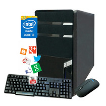Pc Computadora Cpu Intel Core I3 4gb 500gb Dvd Kit