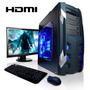 Pc Armada Gamer | Cpu Amd A10+ X4 | Ati Hdmi | 1tb + Cuotas