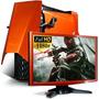 Pc Amd 6 Nucleos Gamer Geforce Gtx750 Ti + Hd 1tb + Kit Full