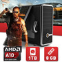 Pc Gamer Amd A10 7850k 12 Nucleos Ati R7 8gb Kingston 1tb Wd