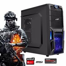 Pc Armada Gamer Amd A10 Video R9-380 16gb Ram Ssd 120gb Hdmi