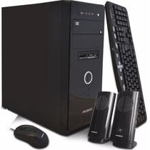 Pc De Escritorio Pcbox 4gb-500gb-graba Dvd-lect Tarje