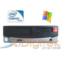 Pc Cpu Arm + Cable Power -intel Celeron Wind Xp Ideal Ventas