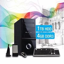 Pc Armada Intel I5 Ram 4gb Hd 1tb Asus Hdmi Usb 3.0 Diseño