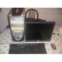 Computadora Completa Pentium 4 3.0ghz C/monitor Lcd Dell Exc