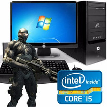 Pc Computadora Intel Core I5 8gb 1tb + Monitor Led 22