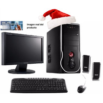 Pc Nueva Completa + Monitor Lcd 17 1 Tb 8gb Dvdrw Hdmi Wifi