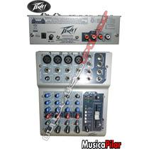 Consola Mixer Peavey 6 Efectos Pv6 Musica Pilar