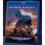 Bluray Batman: Begins, En Perfectas Condiciones Y Oferta!