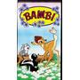 Bambi Vhs Original Imperdible!