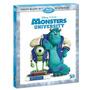 Monsters University 3d Blu-ray Original Caja Disney
