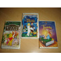 Thumbelina Swan Princess Winnieh Pooh Vhs Animacion Disney