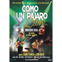 Dvd *como Un Pajaro Libre* Con M Sosa Nuevo Original Oferta