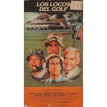 Los Locos Del Golf Chevy Chase Bill Murray Comedia Retro Vhs