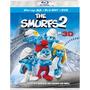 Blu Ray 3 D + Dvd Smurfs 2 Pitufos Original Nueva