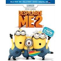 Blu Ray 3d Despicable Me 2 Blu Ray 3d Nuevo Original