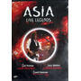 Dvd - Asia - Live Legends - Palmer/wetton/downes - Nuevo