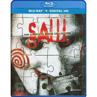 Blu-ray Saw Collection / Juego Del Miedo / 7 Films Unrated