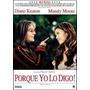 Dvd Porque Yo Lo Digo De Michael Lehmann Con Diane Keaton