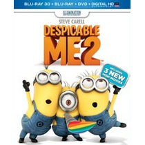 Blu Ray Despicable Me 2 3d Blu Ray Dvd Nuevo