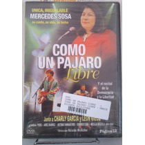 Como Un Pájaro Libre - Mercedes Sosa - Dvd Original