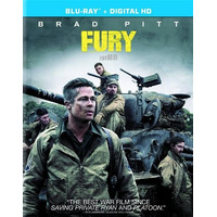 Blu-ray Fury / Corazones De Hierro / Masterizada En 4k