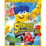 Blu-ray The Spongebob Movie 2 / Bob Esponja 2/ 3d + 2d + Dvd