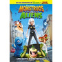 Monstruos Vs Aliens - Dvd - Nueva - Cerrada - Original!!!