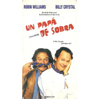 Un Papa De Sobra Vhs Robin Williams Billy Crystal 1997