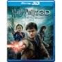 Blu-ray Harry Potter & The Deathly Hallows 7.2 3d + 2d