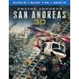 Blu-ray 3d San Andreas / Terremoto La Falla.../ Br3d + 2d