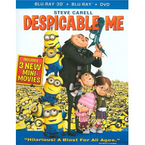 Blu-ray 3d Despicable Me / Mi Villlano Favorito / 3d+2d+dvd