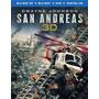 Blu-ray San Andreas / Terremoto (2015) 3d +2d + Dvd