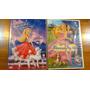 2 Dvd Peliculas Barbie, En Español, 1 Cerrado Nunca Abierto